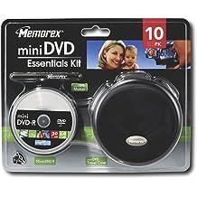 Memorex 1.4Gb Mini Dvd Camcorder Essentials Kit With 10 Mini Dvd R 8Cm