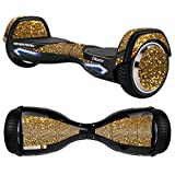 Skin For Razor Hovertrax 2.0 Hover Board – Gold Dazzle | MightySkins Protective, Durable, and Unique Vinyl Decal wrap cover | Easy To Apply, Remove, and Change Styles | Made in the USA