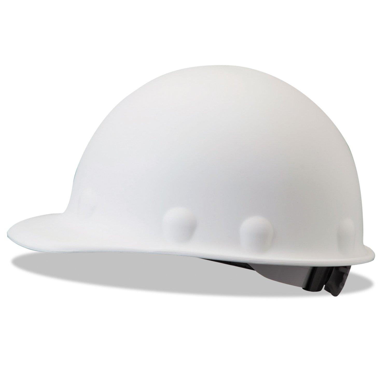 Fibre-Metal P2ARW01A000 Roughneck P2 Protective Caps, 8 Pt Ratchet, White - 280-P2ARW01A000 by Fibre-Metal Hard Hat