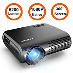 WiMiUS P20 is our 2019 new released projector. The advantages of it is as below: 1. Native resolution is true 1080P. We have tested other so called native 1080P projectors on , their actual resolution is about 800P, instead of 1080P. 2. 5500 ...