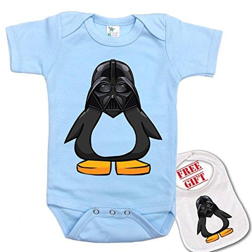 Penguin Novelty bodysuit onesie matching