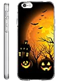 Hard Back Case Cover Shell for iPhone 6s Plus 5.5 Inch Halloween Night