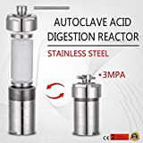 15ml Teflon Lined Hydrothermal Synthesis Autoclave Reactor 304 Steel Hydrothermal PTFT Hydrothermal Reactor Hydrothermal Autoclave Reactor PTFE Lined Vessel