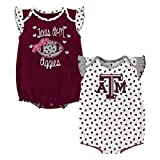 Gen 2 NCAA Texas A&M Aggies Newborn & Infant Heart Fan 2pc Bodysuit Set, Multi, 6-9 Months