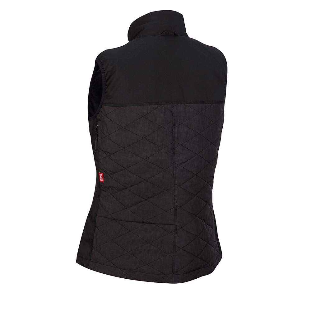 Milwaukee M12 Heated AXIS Vest Lithium-Ion Front and Back Heat Zones - Black (Large, Womens Vest Only) by Milwaukee (Image #6)