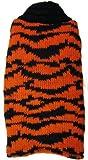 Sunfish Dog Sweater with Fleece, Small, Orange Tiger, My Pet Supplies