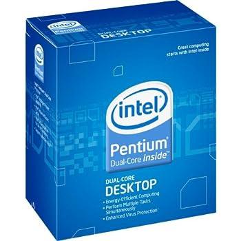 Intel Pentium E6300 Processor 2.8 GHz 2 MB Cache Socket LGA775