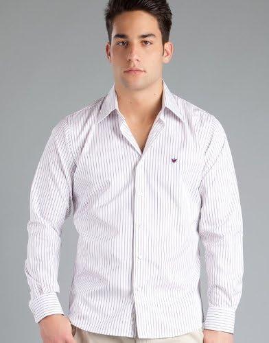 Caramelo Camisa Malva 40: Amazon.es: Ropa y accesorios