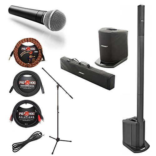 Equipment Sound Bose (Bose L1 Compact Portable w/ Shure SM58 Mic w/ Stand & Cables - Bundle)