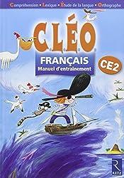 Français CE2 CLEO : Manuel d'entraînement
