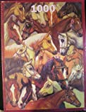 Horse galore from a painting by Elizabeth Ansell, 1000 piece puzzle