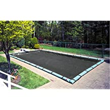 20'x45' In-Ground Rectangle Black Micro-Mesh Swimming Pool Winter Cover