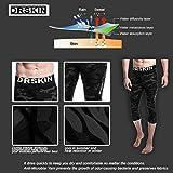 DRSKIN 1~3 Pack Men's 3/4 Compression Tight Pants