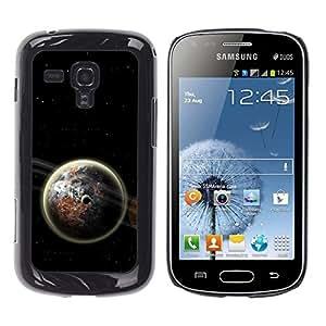 Stuss Case / Funda Carcasa protectora - Earth Space Dark Cosmos Energy Moon Universe - Samsung Galaxy S Duos S7562
