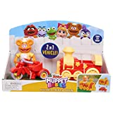 Muppets 14433 Babies Fozzie N Trike N Train, Multicolor