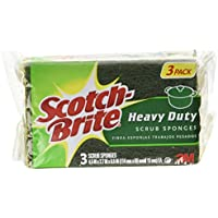 8-Pack Scotch-Brite Heavy Duty 3-Count 24 Scrub Sponges