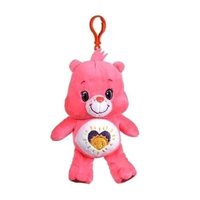 "Care Bears Series 6 Shine Bright Bear 6.5"" Plush Bag Clip: Clothing"