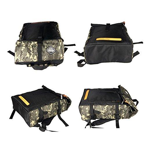 MUMA Daypacks Reisetasche Studententasche Computer Tasche Camouflage Rucksack Nachtfahrt Rucksack ( Farbe : Tarnung ) Tarnung ZVJNQnQ2