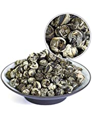 GOARTEA 100g (3.5 Oz) Organic Supreme King Grade Jasmine Dragon Pearl Ball Loose Leaf Chinese Green Tea Groene thee
