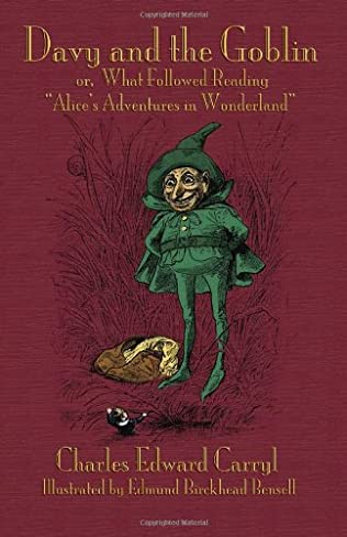book cover of Davy and the Goblin