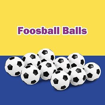 Lepeuxi 4 Unids / 10 Unids Juego de Balones de Futbol de Mesa de ...