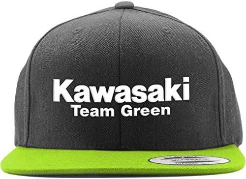 Factory Effex Kawasaki Team Green 2 Snapback Hat