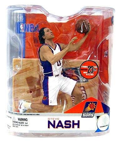 Nash White Jersey (McFarlane Steve Nash #13 Suns White Jersey Series 14 Figure)