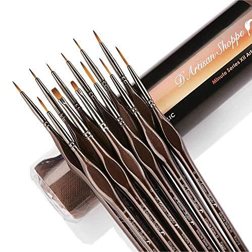 Miniature Paint Brushes Detail