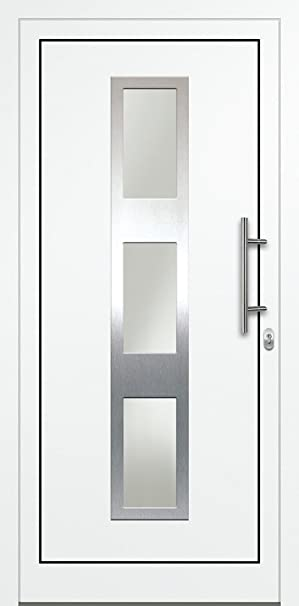 Gut gemocht Haustürfüllung Aluminium Füllung Türfüllung AF04 weiß: Amazon.de AP95