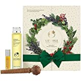 LIZ EARLE Time For Indulgence Gift Set Superskin Treatment Oil Superskin Concentrate for night Wooden Massage Tool Box with Ribbon by Liz Earle