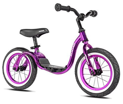 KaZAM Pro Alloy No Pedal Balance Bike, 12-Inch, Grape