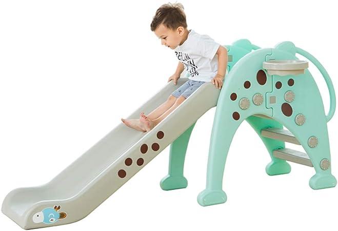 Toboganes independientes Diapositiva interior para niños Bebé en casa tobogán pequeño Juguete deportivo para niña niño Parque de atracciones Jardín exterior Juguetes para niños Juguete de plástico com: Amazon.es: Hogar