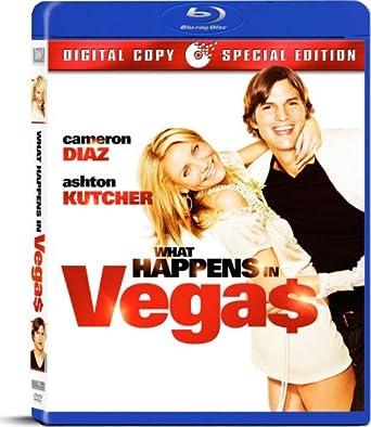 Amazon Com What Happens In Vegas Blu Ray Cameron Diaz Ashton