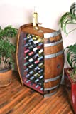 Cheap 32 Bottle Wine Barrel Cabinet By Wine Barrel Creations