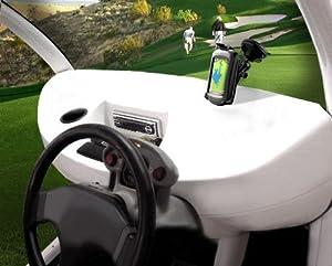 Suction Cup Golf Cart Mount for Garmin Approach G5 GPS