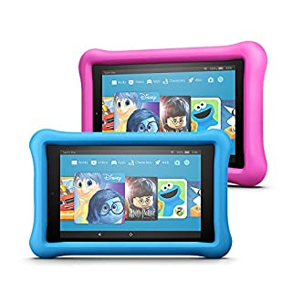 "Fire HD 8 Kids Edition Tablet Variety Pack, 8"" HD Display, 32 GB, (Blue/Pink) Kid-Proof Case"