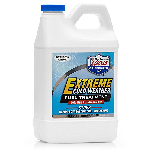 Additive Extreme Cold - Lucas 10021 Extreme Cold Weather Diesel Fuel Treatment – 64 oz.