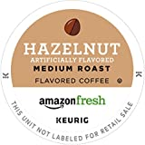 AmazonFresh 80 Ct. Coffee K-Cups, Hazelnut Flavored Medium Roast, Keurig Brewer Compatible