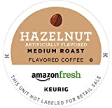 : AmazonFresh 80 Ct. Coffee K-Cups, Hazelnut Flavored Medium Roast, Keurig Brewer Compatible