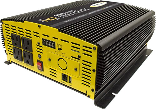 Go Power! GP-3000HD 3000-Watt Heavy Duty Modified Sine Wave Inverter by Go Power!