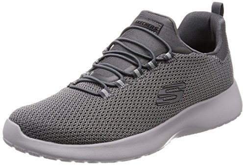Low Black Dynamight Men's Charbon de Skechers Bois Shoes Top XqP5w
