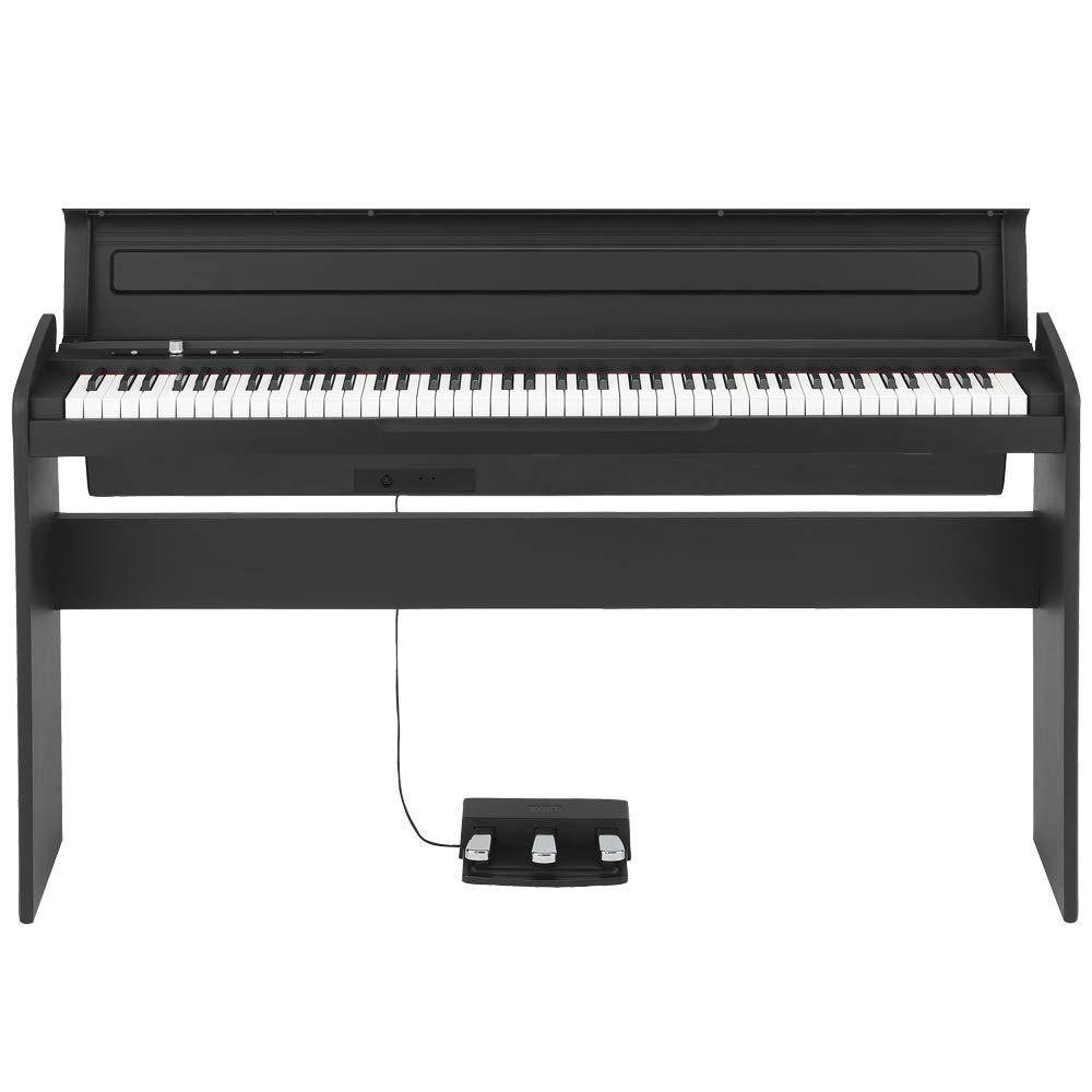 Korg 88 Key Lifestyle Piano Black (LP180BK) by Korg