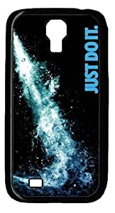 Nike - Just Do It Diy PC Black Case for Samsung Galaxy S4 I9500