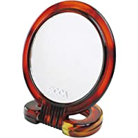 Espelho de Mesa, Ricca, Rosa/ Marrom