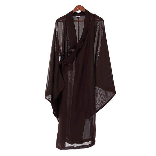 Traje de traje de monje budista túnica zen tela de hilo de ...