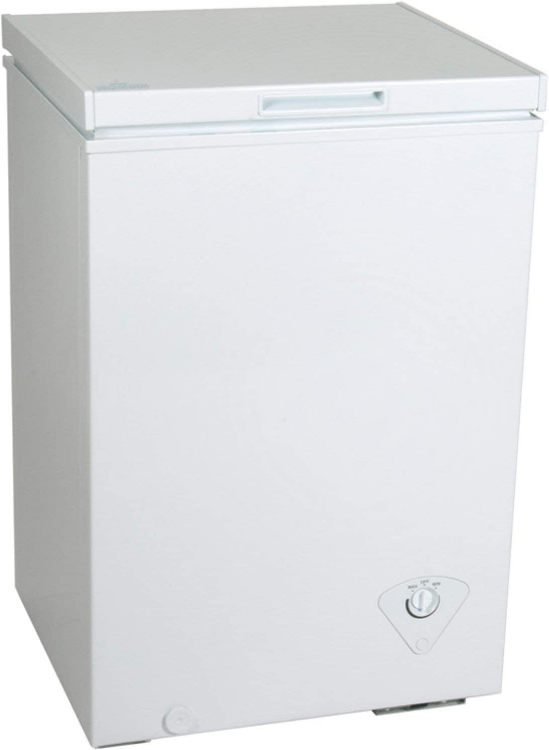 King Chest Freezer (21.69 x 22.24 x 33.46 Inches, White)