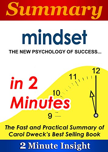 Summary: Mindset The New Psychology of Success…in 2 Minutes - The Fast and Practical Summary of Carol Dweck's Best Selling Book (English Edition)