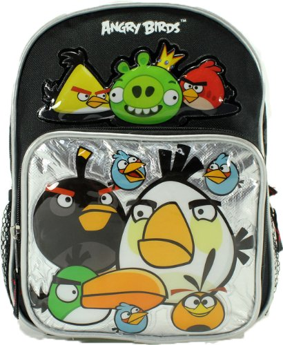 10″ Angry Birds Mini Backpack, Bags Central