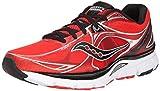 Saucony Men's Mirage 5 Running Shoe,Red/Black,12 M US Review