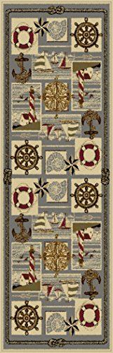 Universal Rugs Novelty Runner Ivory product image
